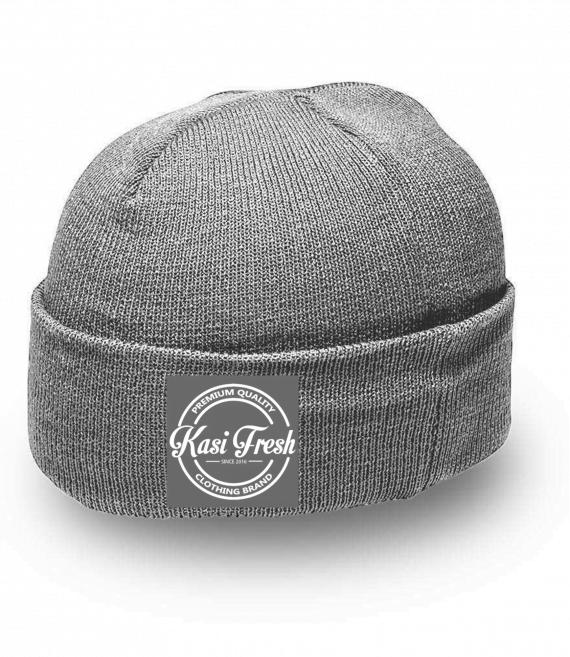 KF001-Dark Grey Melange
