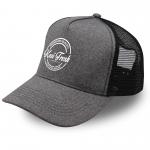 KF10500-Kasi Fresh jersey trucker capsCharcoal Melange-Black