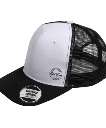 Kasi Fresh snapback mesh curved peak caps