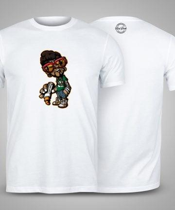 Kasi Fresh graffiti shirt