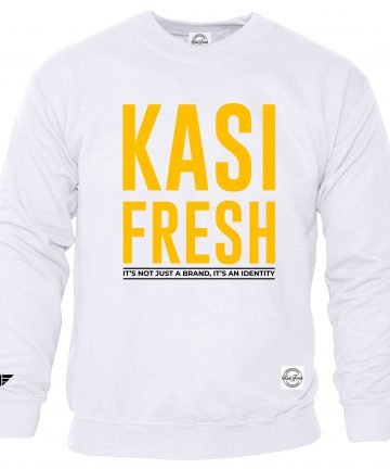 Kasi Fresh Sweater with yellow print